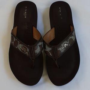 Coach Judy Flip Flop / Thong Sandal Sz 8.5